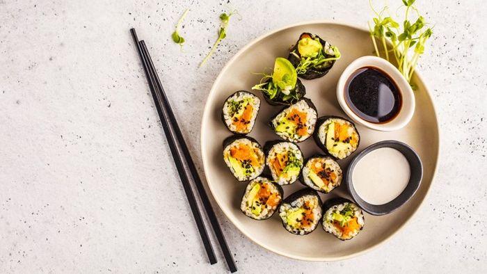 sushi reis zubereiten schritt für schritt leckeres pertyessen chinesische rezepte