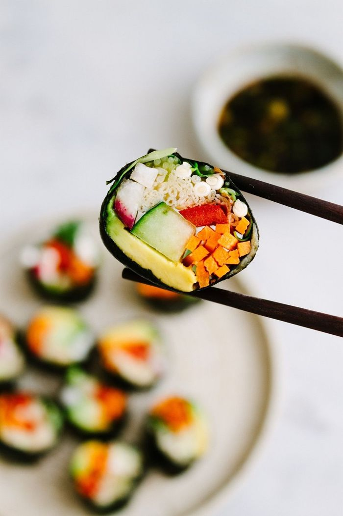 sushi selber machen fingerfood ideen und rezepte vegetarisch