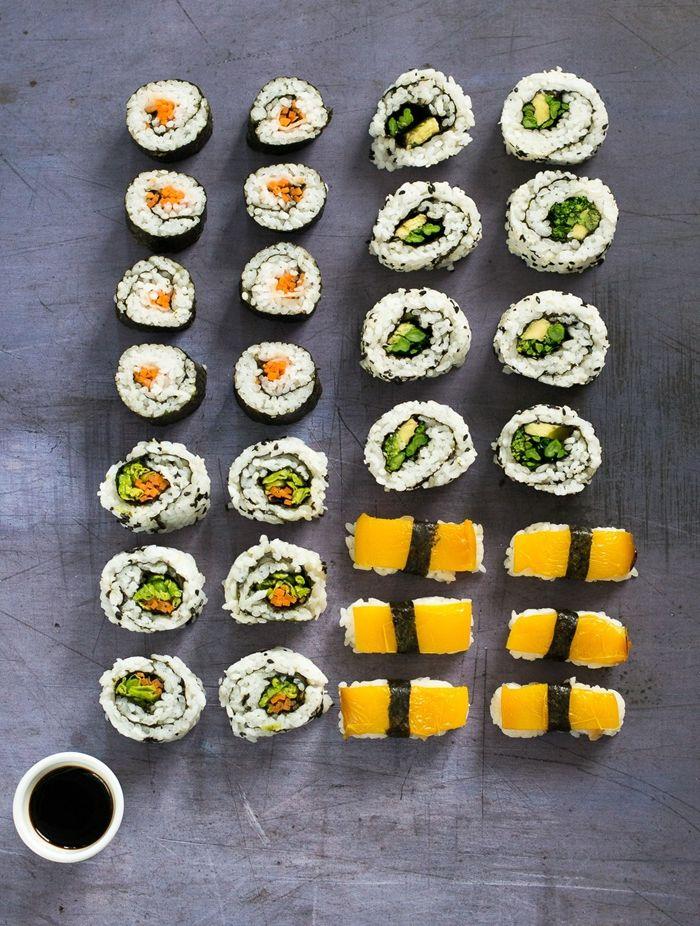 sushi selber machen zutaten und anleitung schritt für schritt essen für gäste