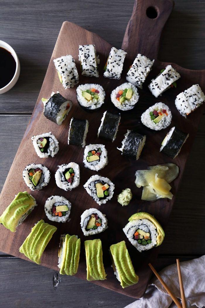 sushi selber machen zutaten und anletungen die besten rezepte fingerfood ideen