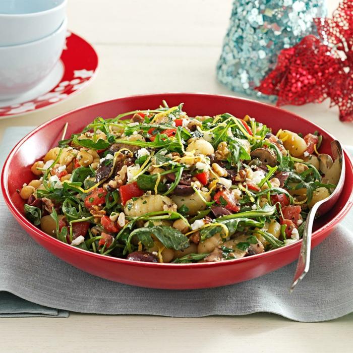vollkorn gnocchi rezepte mit gnocchi frische portobello salat mit gnocchi pilzen zitronensaft tomaten gnocchi gerichte