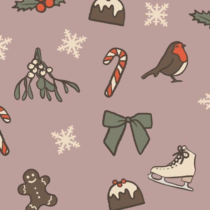 weihnachten motive schlittschuhe männchenkekse schneeflocken schleifen adventsbilder kostenlos herunterladen handy wallpaper