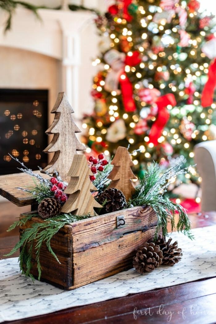 weihnachtsdeko basteln für den tisch schritt für schritt anleitungen und ideen festliche deko centerpiece einfach und schnell