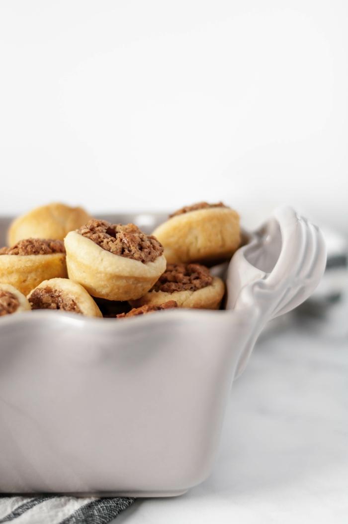 weihnachtsmenü zum vorbereiten weihnachtsessen rezepte mini pecannuss kuchen