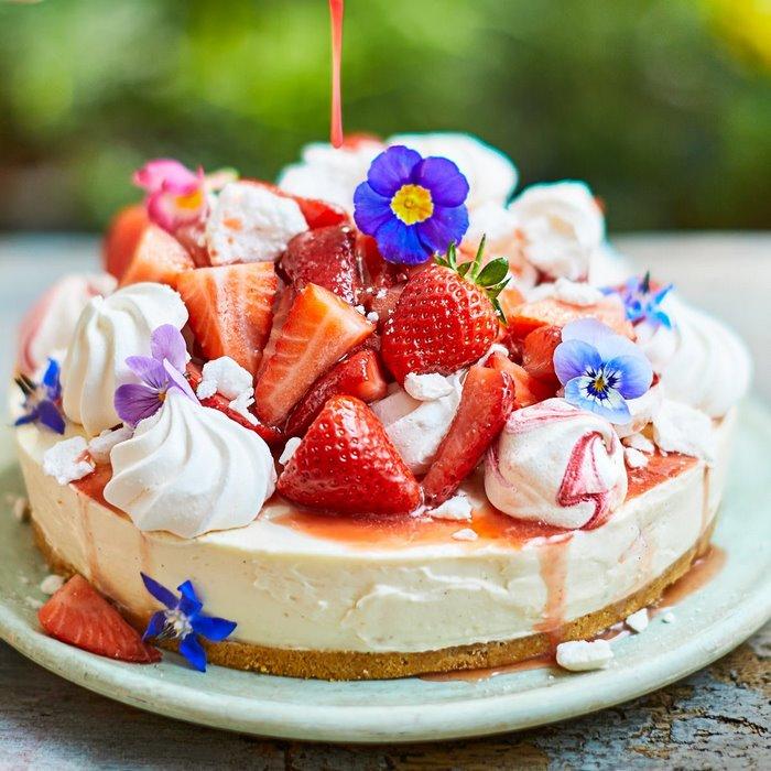 3 gänge menü rezepte romantischrezepte für verliebte 2 gänge menü einfaches 3 gänge menü dessert kuchen cheesecake mit erdbeeren