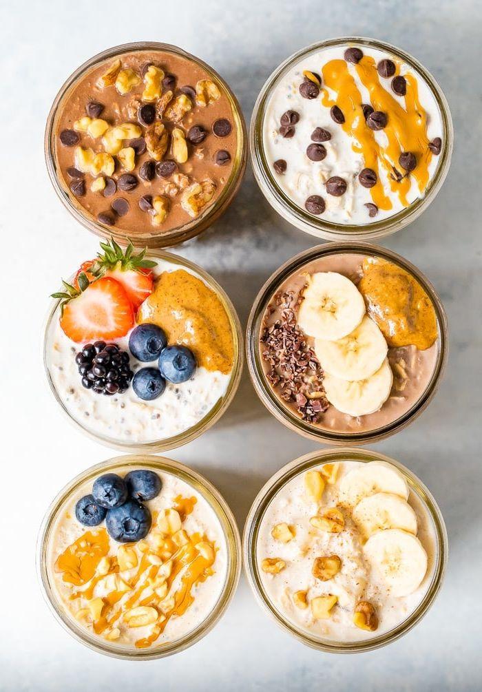 bircher müsli joghurt gesund essen frühstück ideen zum abnehmen