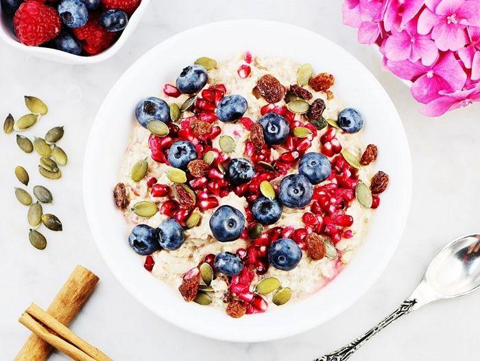 bircher müsli rezept ideen gesund frühstücken leckere frühstücksideen