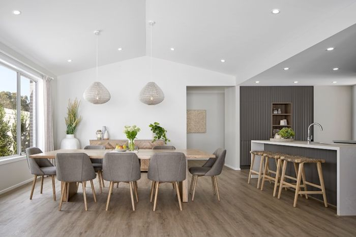 decke streichen ideen modernes interieur kücengestaltung in weiß und grau