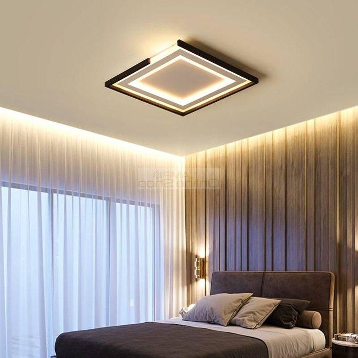 decke streichen ideen schlafzimmer schlafzimmerdeko schlafzimmerbeleuchtung