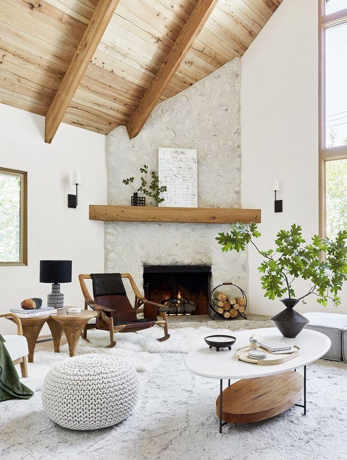 decke verkleiden möglichkeiten kleines wohnzimmer mit hoher zimmerdecke moderne einrichtung