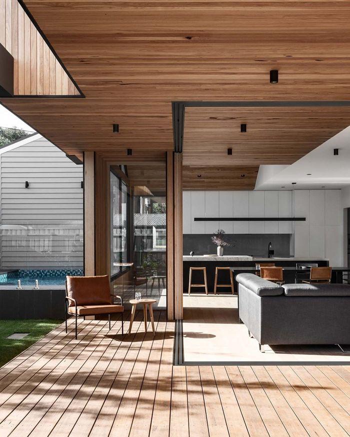 decken deko ideen und inspirationen zimmerdecke aus holz wohnzimmer gestalten