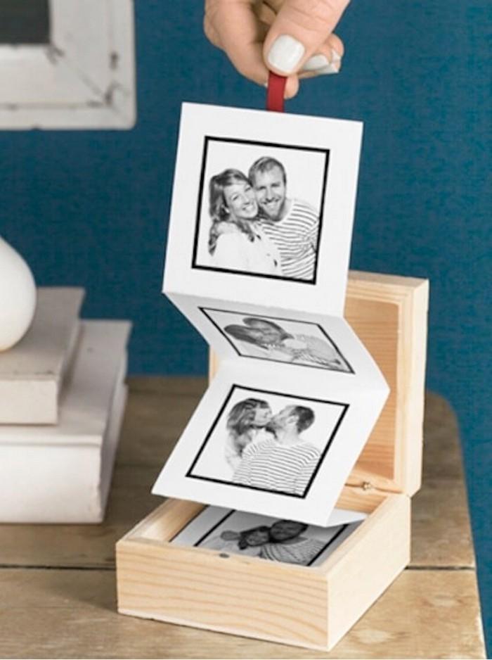 diy geschenke freund valentinsta mann geschenke für valentinstag selber machen pull up fotoalbum selber machen