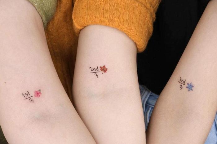 Tattoo für mann und kind