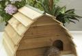 Ein Igelhaus selber bauen – wie kümmert man sich um einen Igel?