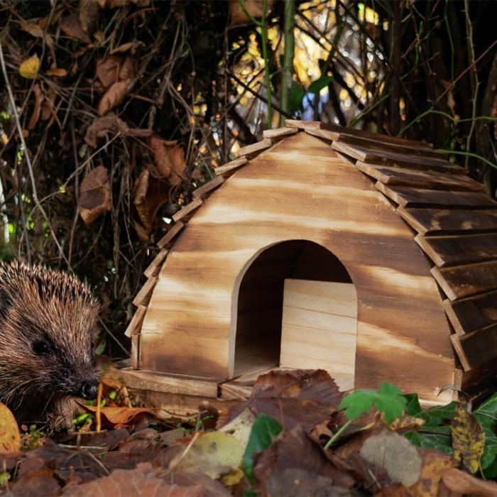 igelhaus mit rattenklappe bauanleitung igelhaus igel im garten igelhaus hütte
