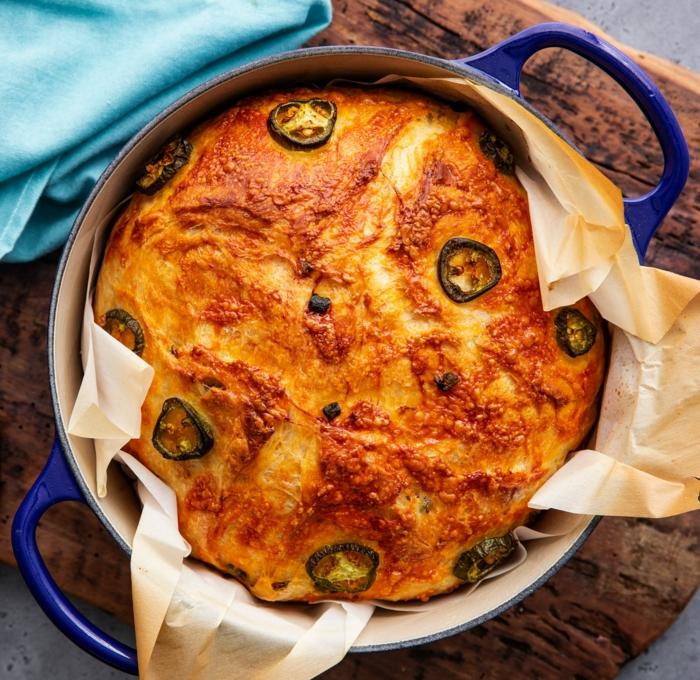 jalapeno cheddar brot selber machen dutch oven gerichte leckere und leichte rezepte köstliche gerichte