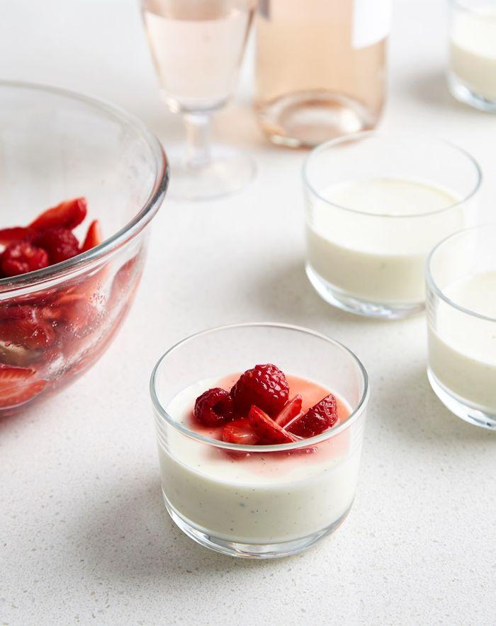 joghurt selber machen gesund essen leckere rezepte fruchtjoghurt mit erdbeeren