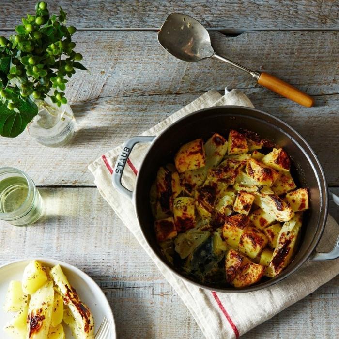 köstliche rezepte zubereiten abendessen ideen dutch topf rezept gerichte mit gemüse gesunde ernährung