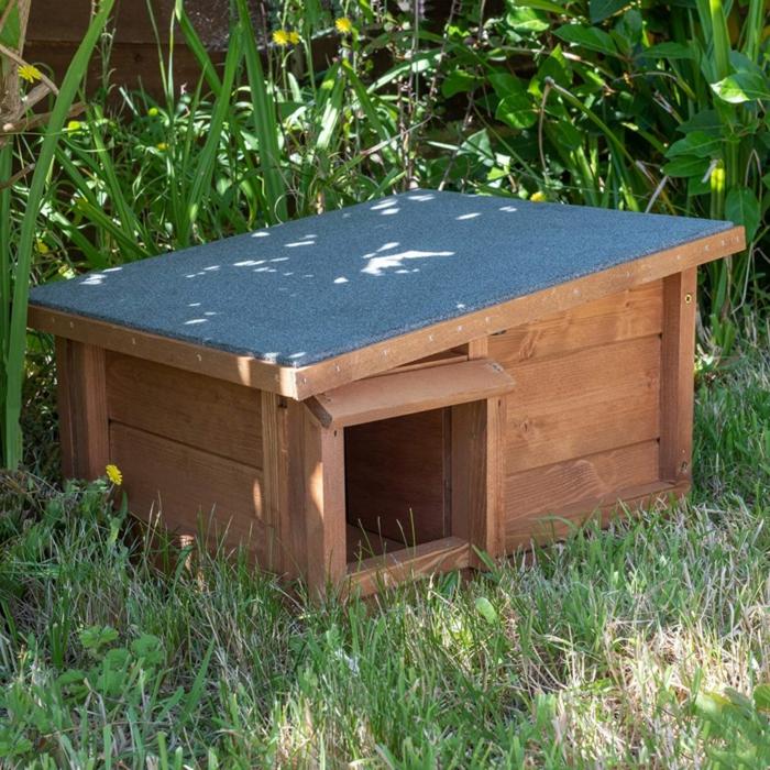 katzensicheres igelhaus bauen bauanleitung igelhaus