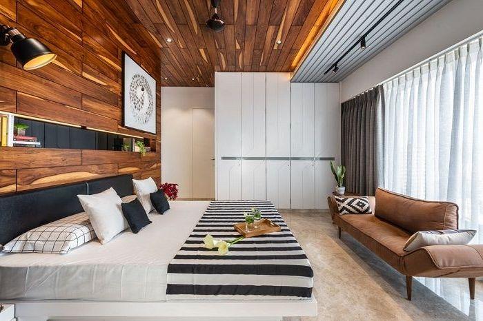lösungen für zimmerdecken schlaffzimmer einrichten decke aus holz schlafzimmerdecke ideen