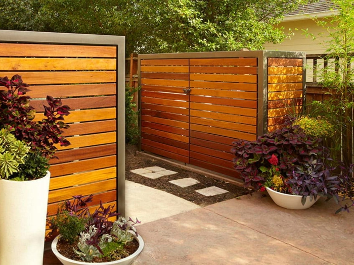 mülltonnenbox holz selber bauen mülltonnenverkleidung ideen müllbox selber bauen mülltonnenbox bepflanzbar