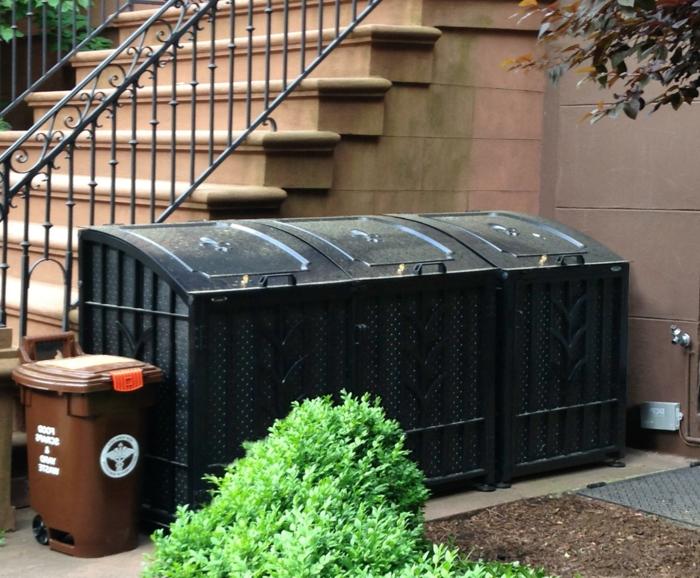 mülltonnenbox selber bauen mülltonnenbox aluminium klappenmechanismus selber bauen ideen mülltonnenbox selber bauen