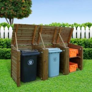 Mülltonnenbox selber bauen - Bauanleitungen und Ideen für Ihren Garten
