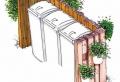 Mülltonnenbox selber bauen – Bauanleitungen und Ideen für Ihren Garten