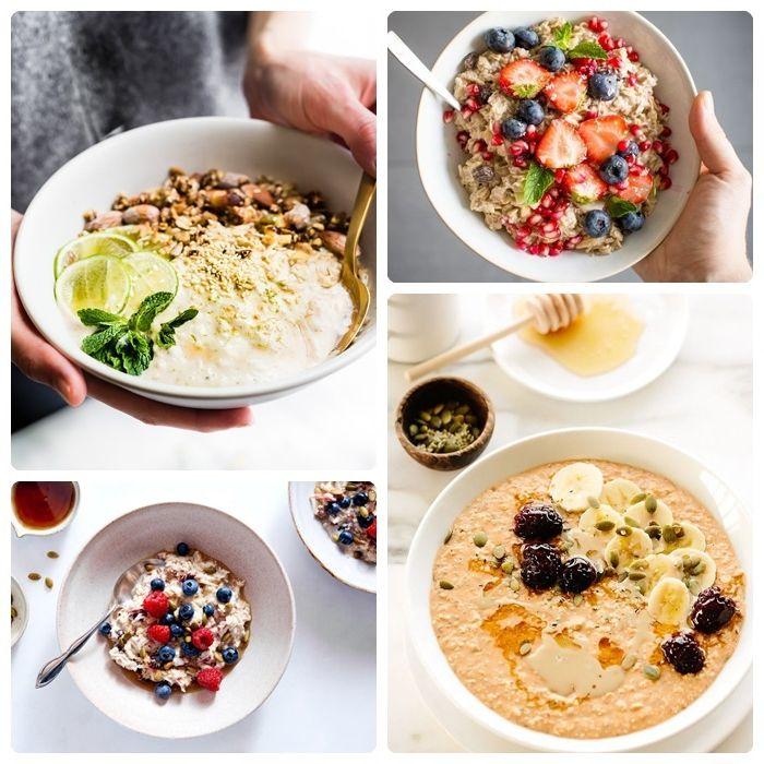 rezept bircher müsli frühstück zum abnehmen gesundes essen mit haferflocken