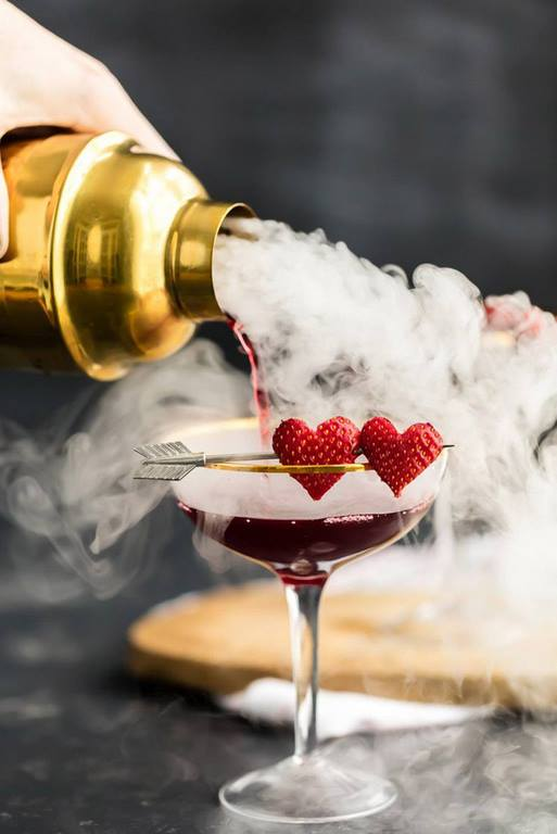 rezepte für 2 personen romantisch kochen zu zweit ideen cocktail margarita erdbeeren romantsiches essen