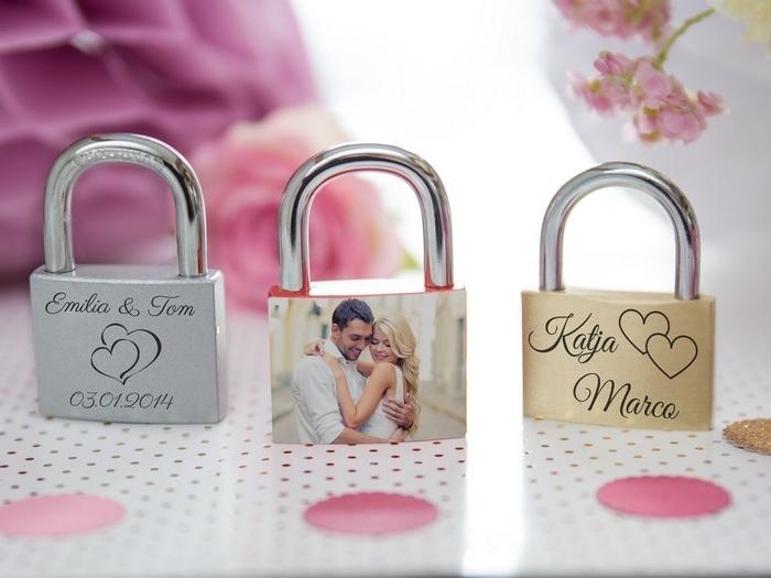 romantische geschenke selber machen valentinstag mann geschenk valentinstag drei vorhängeschlösser mit deko liebesgeschenke