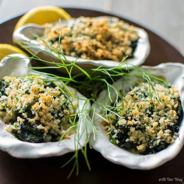 romantisches essen rezepte austern rockfeller besonderes abendessen rezepte valentinstag menü für 2021 rezepte für 2 personen romantisch muscheln rockfeller