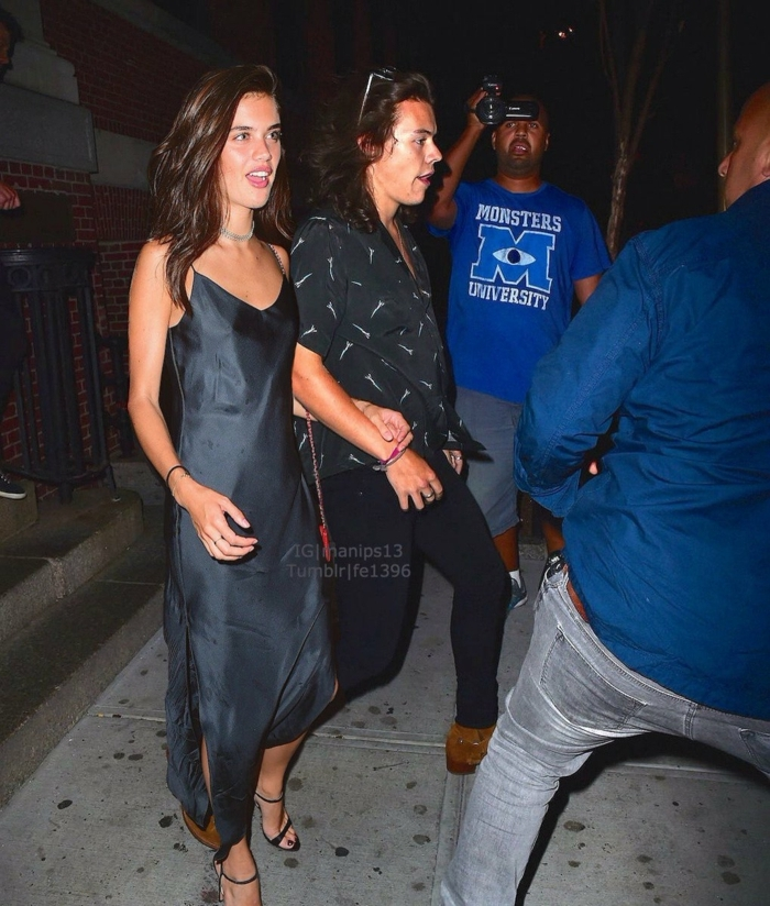 sara sampaio victorias secret model harry styles girlfriends freundin von harry styles