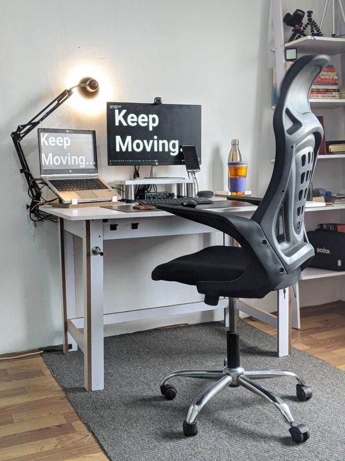 steh sitz schreibtisch tisch höhenverstellbar stehschreibtisch ergonomischer bürostuhl