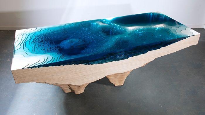 tisch mit epoxidharz selber machen anleitung schritt für schritt