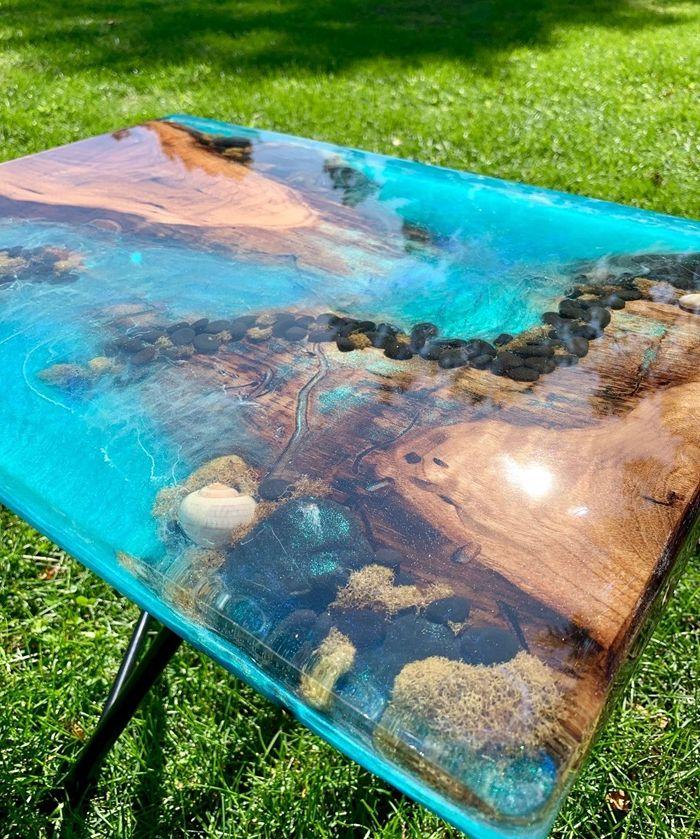 tischplatte selber bauen schritt für schritt massivholztisch mit harz