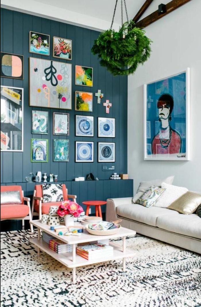 was ist souterrain kellerwohnung was bedeutet hochparterre wohnzimmer im souterrain wände blau weiß wanddeko bilder