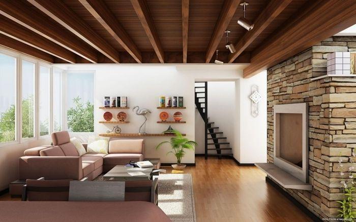 wohnzimmer decke gestalten zimmerdecke aus wohnung einrichten holz wohnzimmerdeko