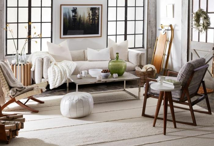 2021 interior design inspiratio hygge wohnzimmer einrichte tipps und ideen inneneinrichtung inspo weißer couch schönes gemälde an die wand