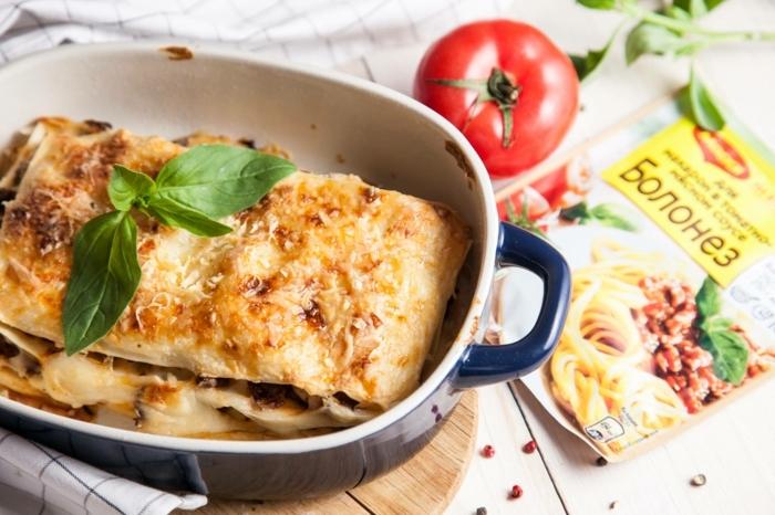 lasagne selber machen rezept eine vegane lasagne mit tomaten und basilikum