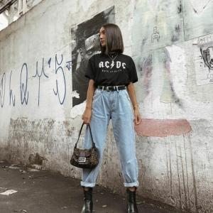 Slouchy Jeans 2021 Trends - Komfort und Stil