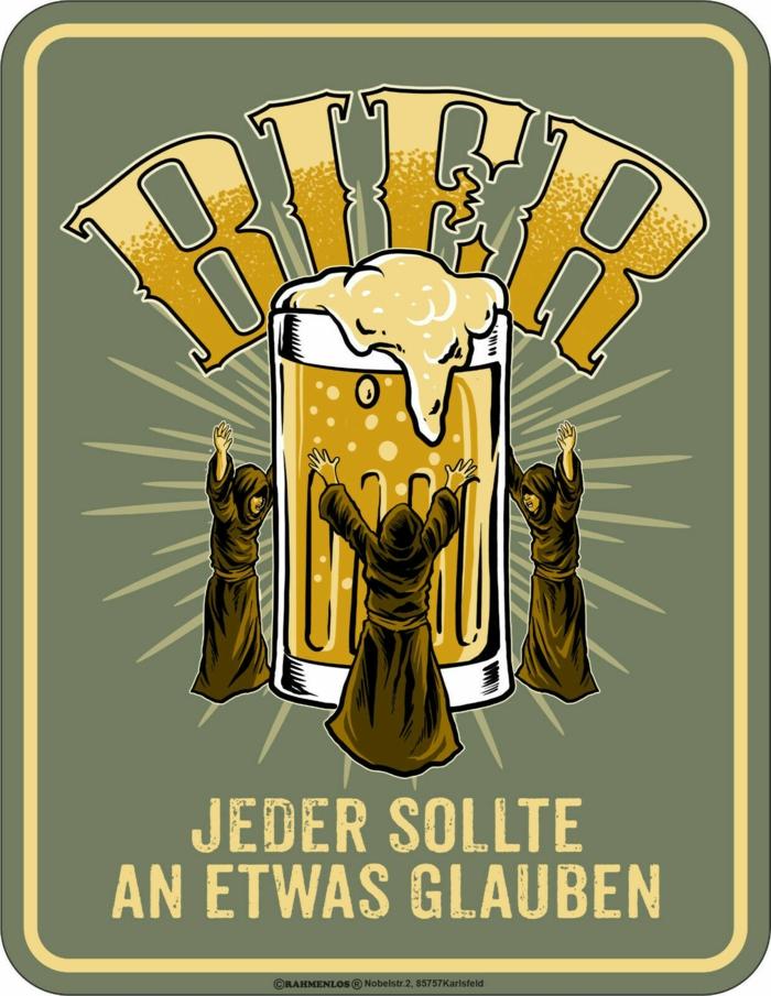 an bier glauben witze witzige bilder zum totlachen kostenlos zeichnung von einem bierkrug jeder sollte an etwas glauben