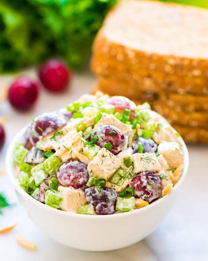 diät in der schwangerschaft salat mit joghurt gesund essen ernährungsplan für schwangere