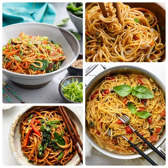 einfache und schnelle rezepte mit nudeln abendessen ideen pasta