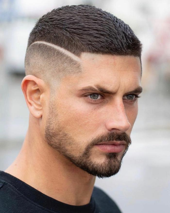 inspiration männerfrisuren undercut kruz mit bart moderne frisuren für männer ideen und inspo