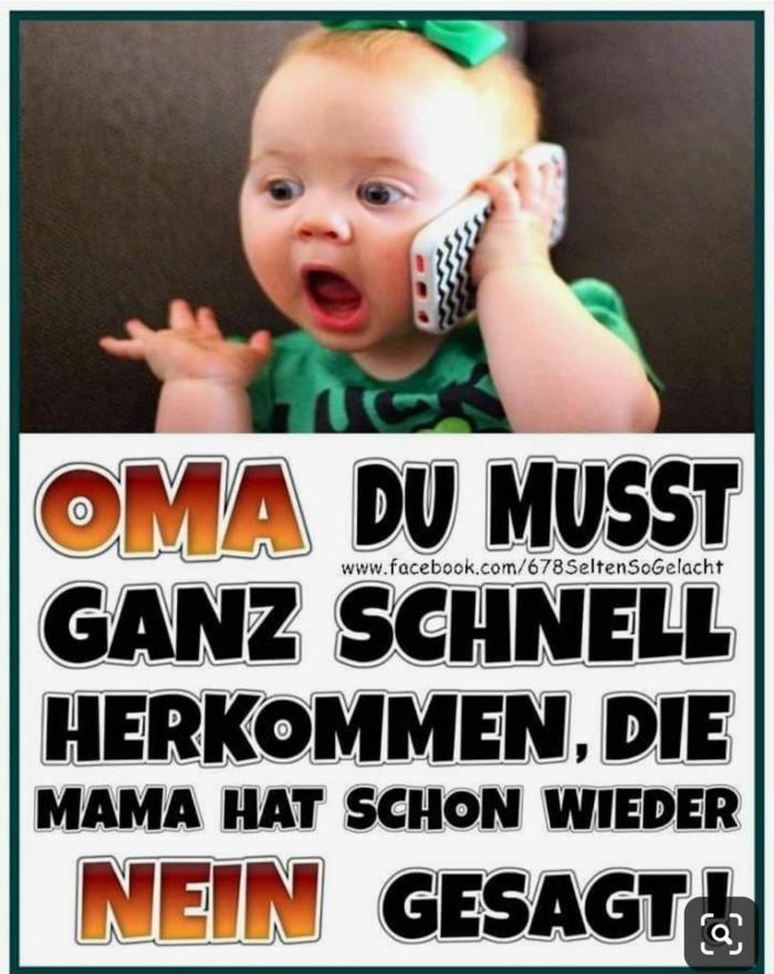 kleines baby spricht am handy lustige bilder sprüche totlachen witze lustig für bessere stimmung