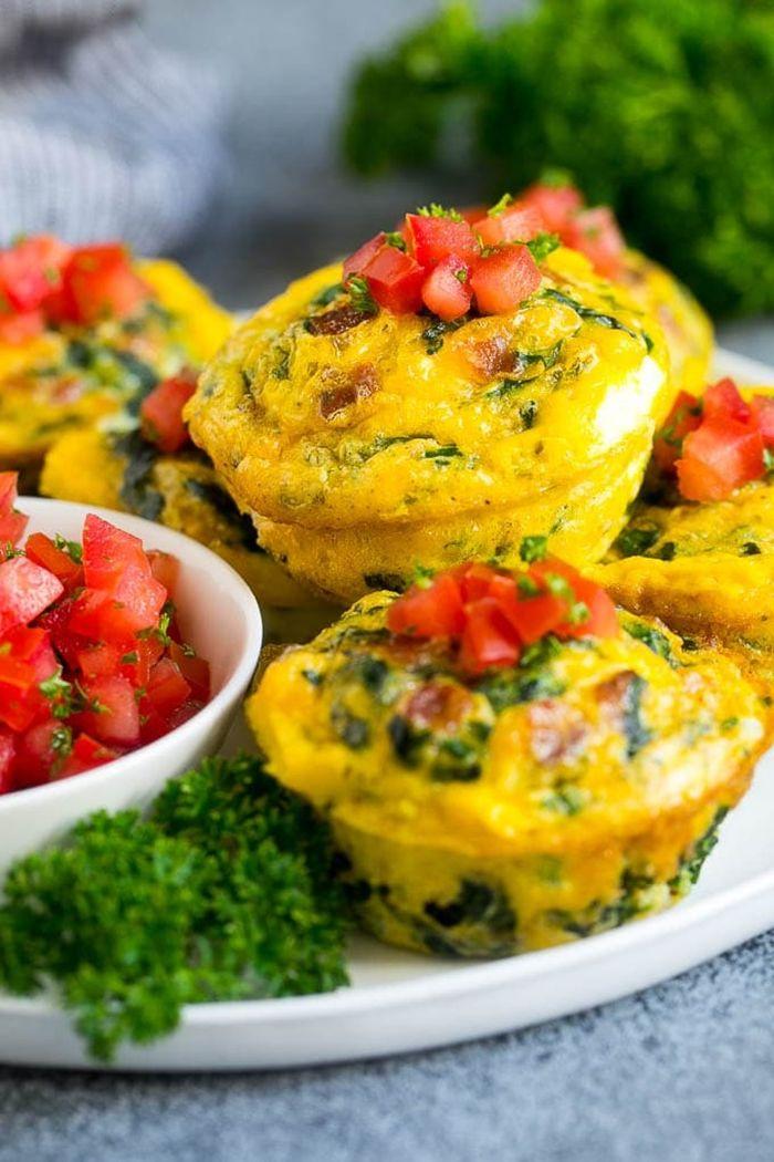louwen rezepte eiermuffins mit kräutern muffins low carb frühstück