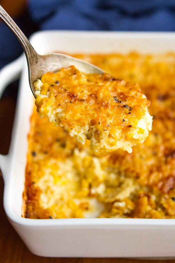 osterrezepte hauptspeise chefkoch ostern kremige casserole mit mais und käse