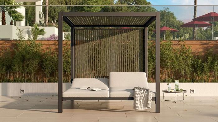 outdoor bereich gemütlich gestalten moderne gartenmöbel außenmäbel gartengestaltung