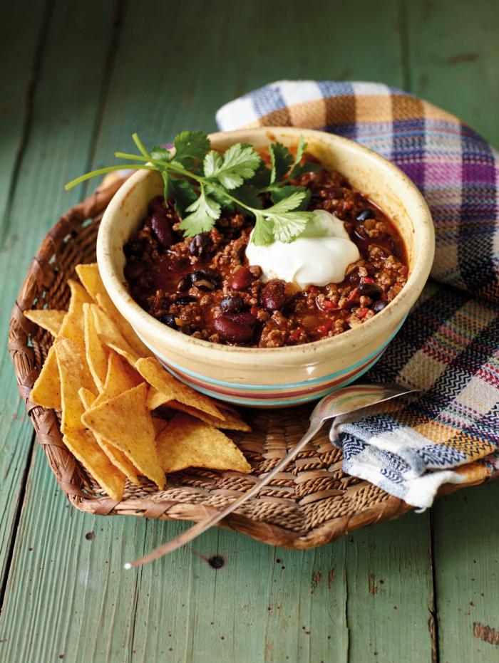 rezept für veganes chili sin carne ein mexikanisches gericht